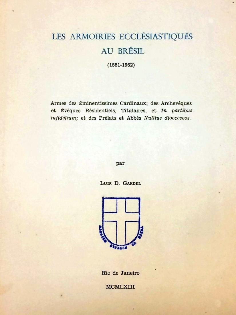 Armoiries Ecclesiastiques Bresil Signed First Edition - 5