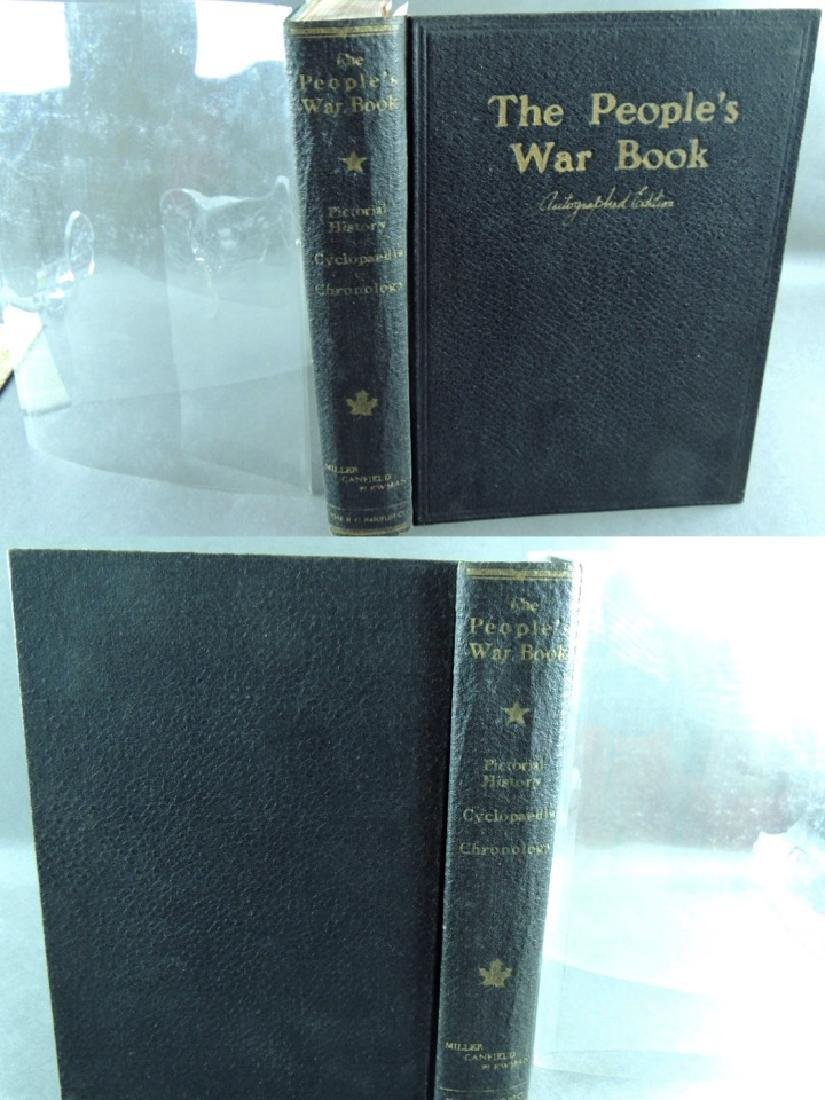 The People's War Book – Autographed Edition 1919