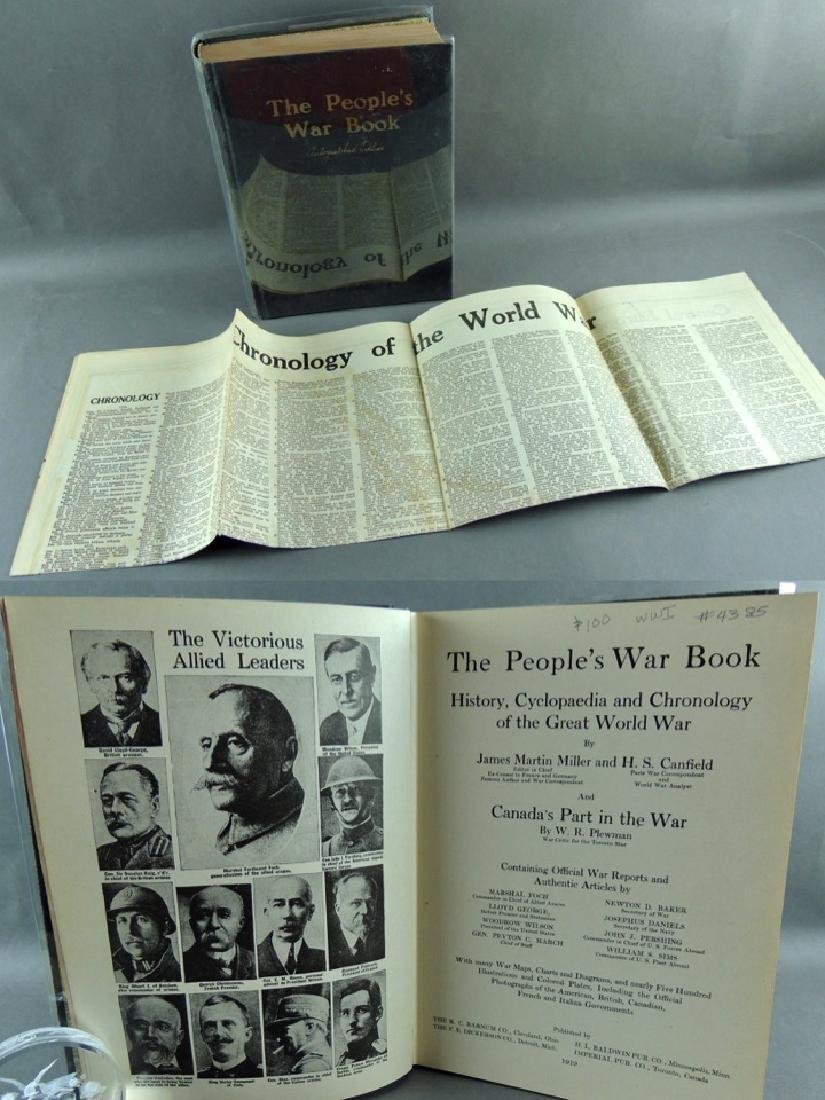 The People's War Book – Autographed Edition 1919 - 2