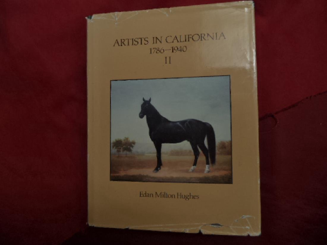 Artists in California. 1786-1940. Ii. First Edition