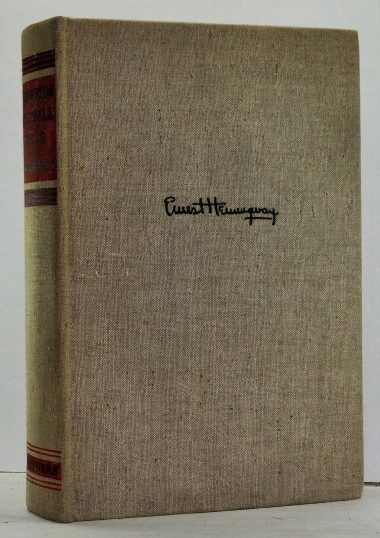 For Whom the Bell Tolls Ernest Hemingway First Edition
