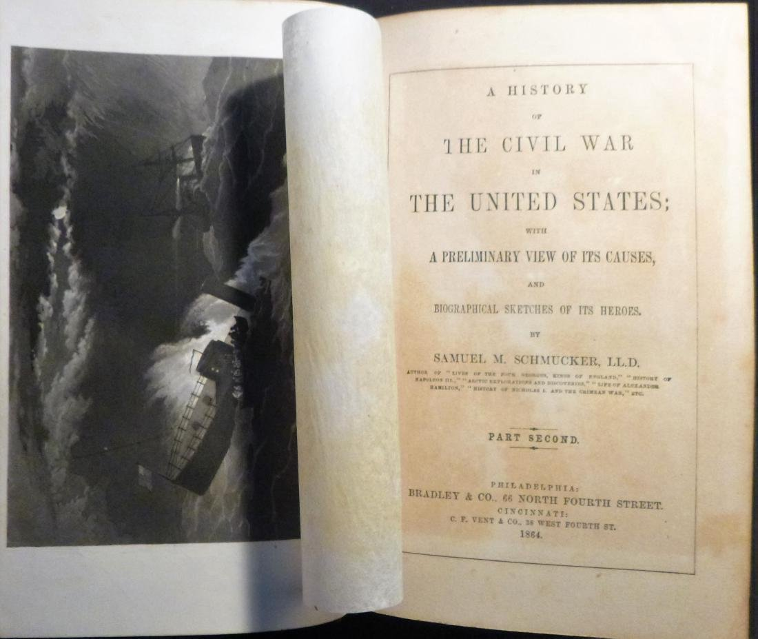 Samuel Schmucker: A History of the Civil War, First Ed. - 2