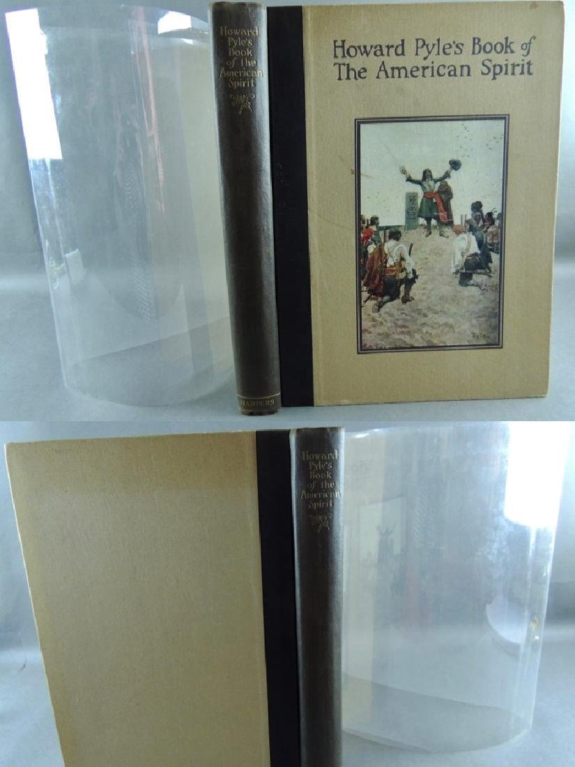 Howard Pyle's Book American Spirit 1923, First Edition