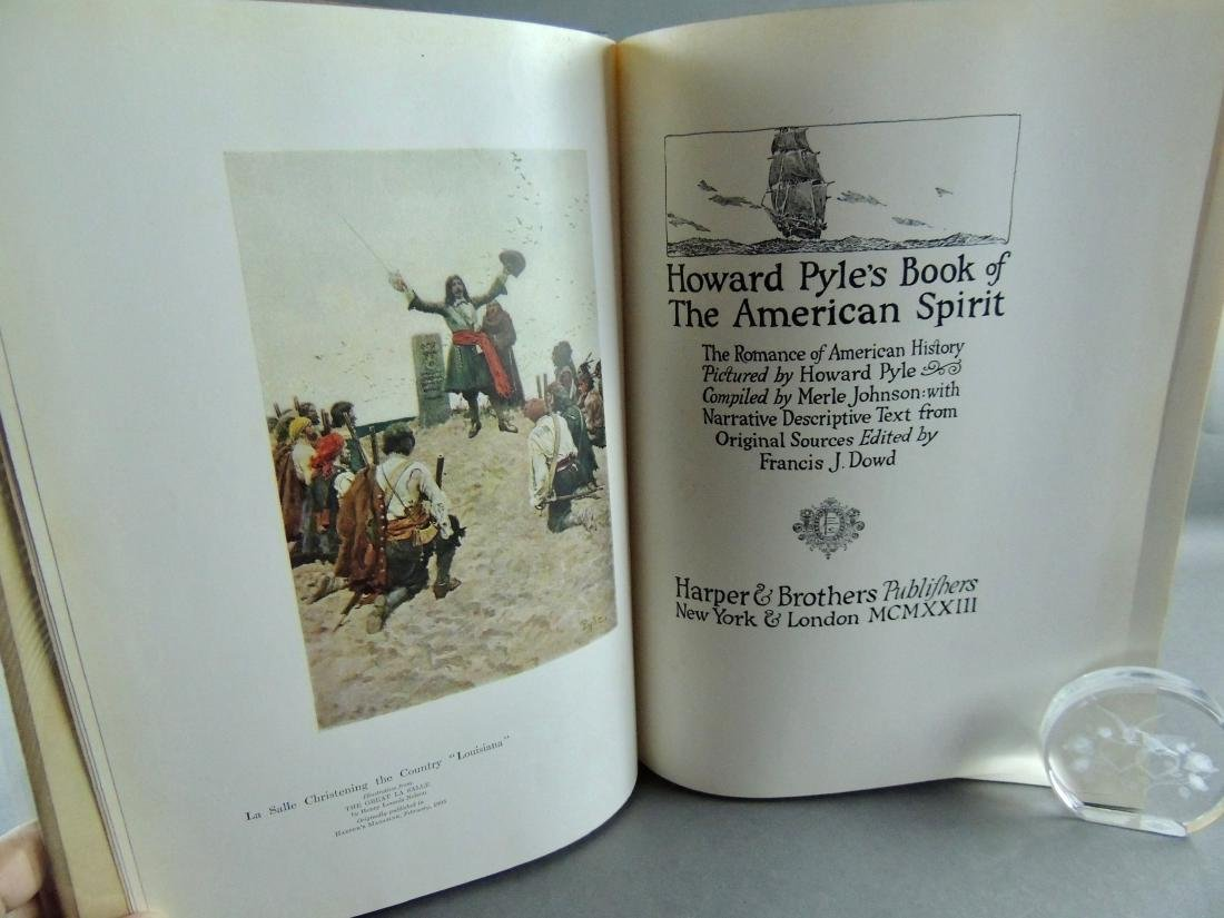 Howard Pyle's Book American Spirit 1923, First Edition - 3