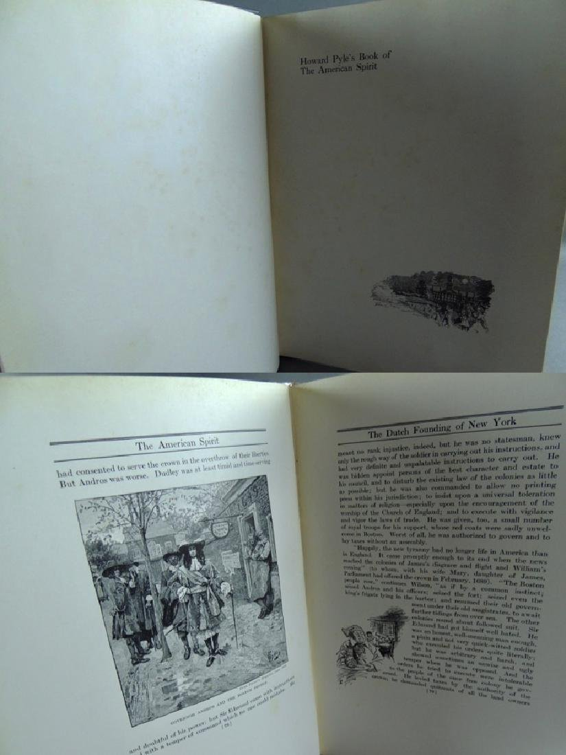 Howard Pyle's Book American Spirit 1923, First Edition - 6