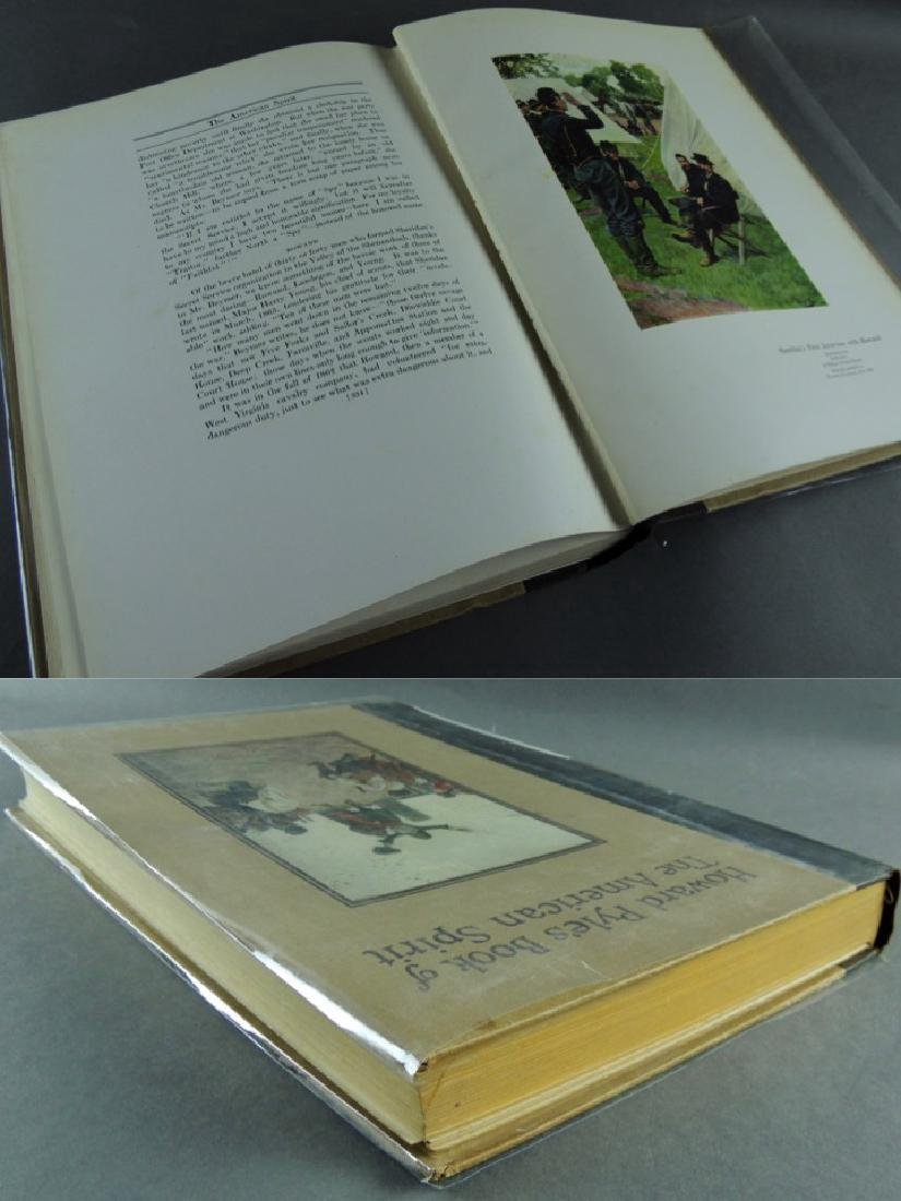 Howard Pyle's Book American Spirit 1923, First Edition - 7