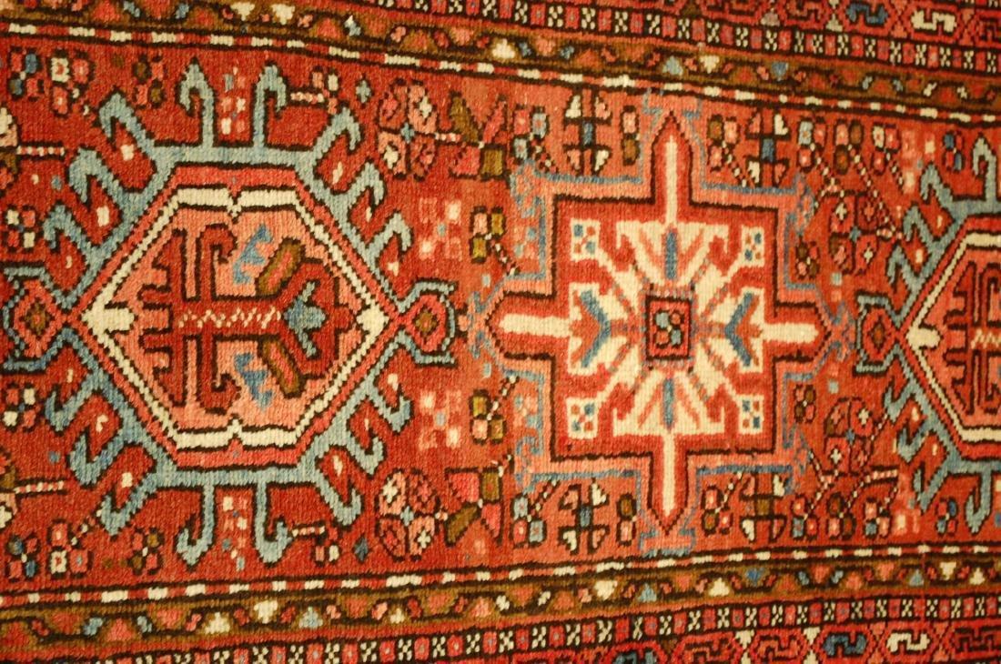 Persian Heriz Karaje Serapi Runner Rug 2x6.1 - 4