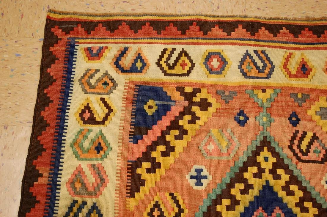 Rare Size Caucasian Kilim Rug 4.7x9.3 - 4