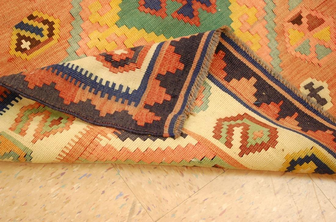 Rare Size Caucasian Kilim Rug 4.7x9.3 - 9
