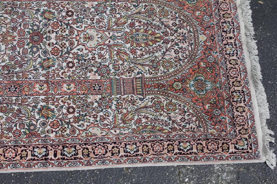 Persian Coupled-Column Prayer Rug 6.1x4.1 - 2