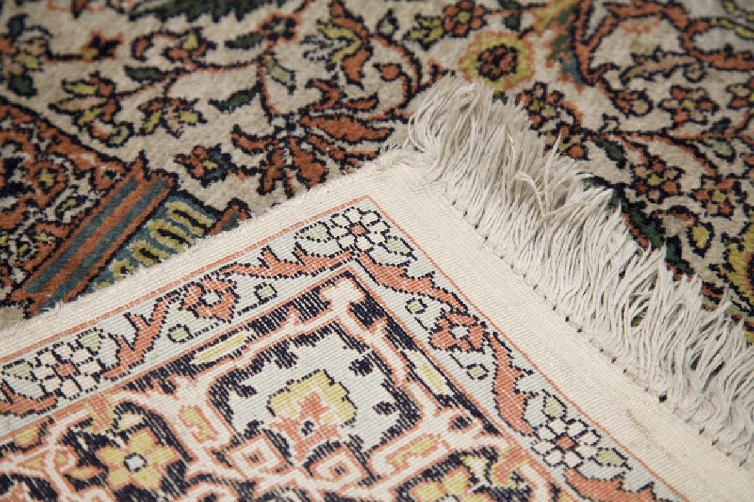 Persian Coupled-Column Prayer Rug 6.1x4.1 - 3
