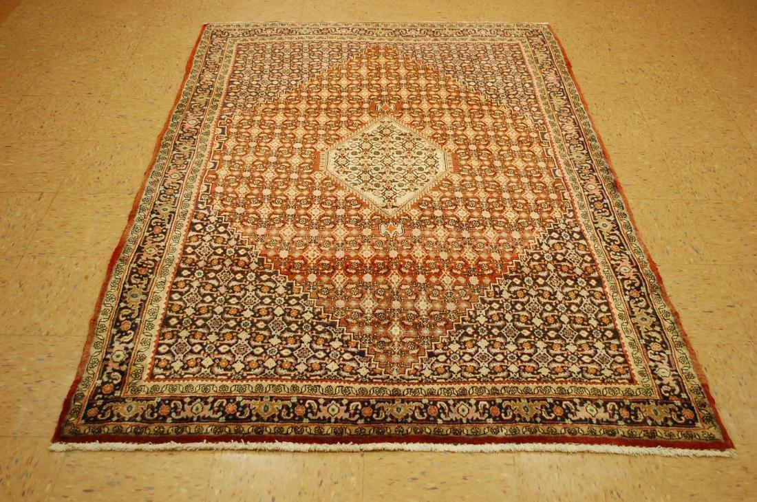 Fine Classic Village Woven Persian Bijar Rug 4.8x7.2