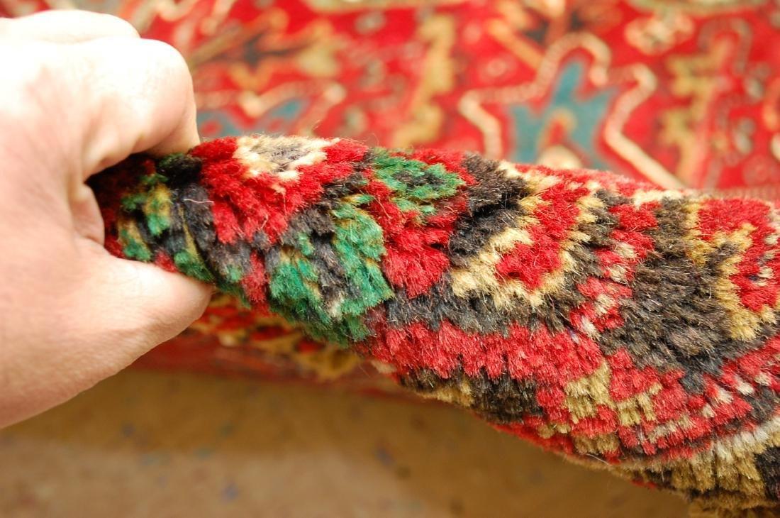 Persian Heriz Serapi Rug 11.8x13 - 10