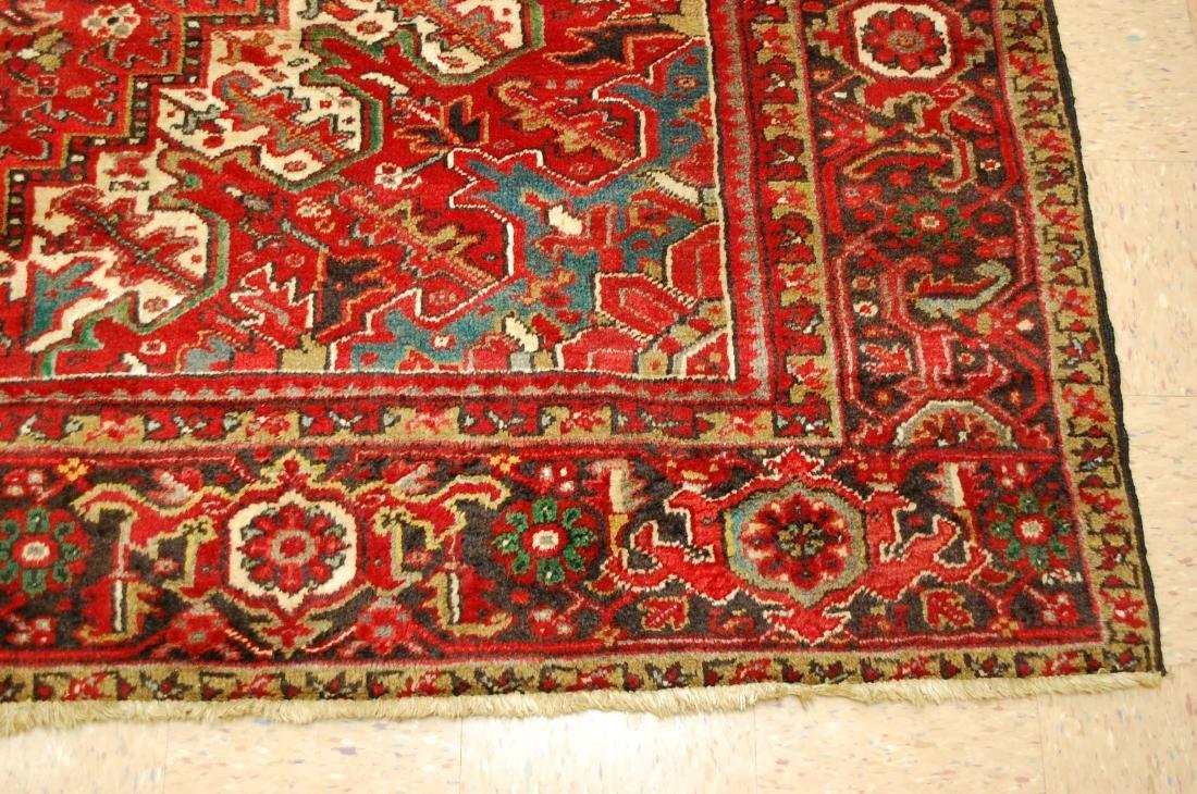 Persian Heriz Serapi Rug 11.8x13 - 2