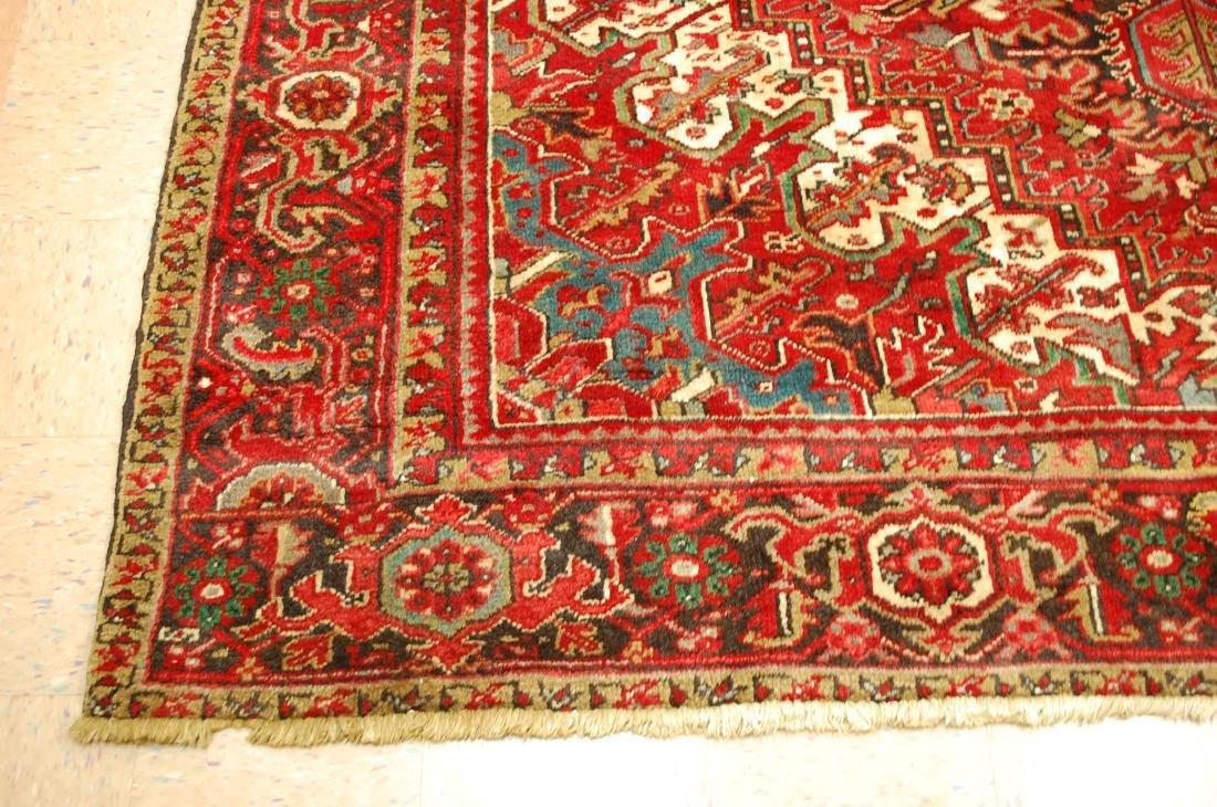 Persian Heriz Serapi Rug 11.8x13 - 3