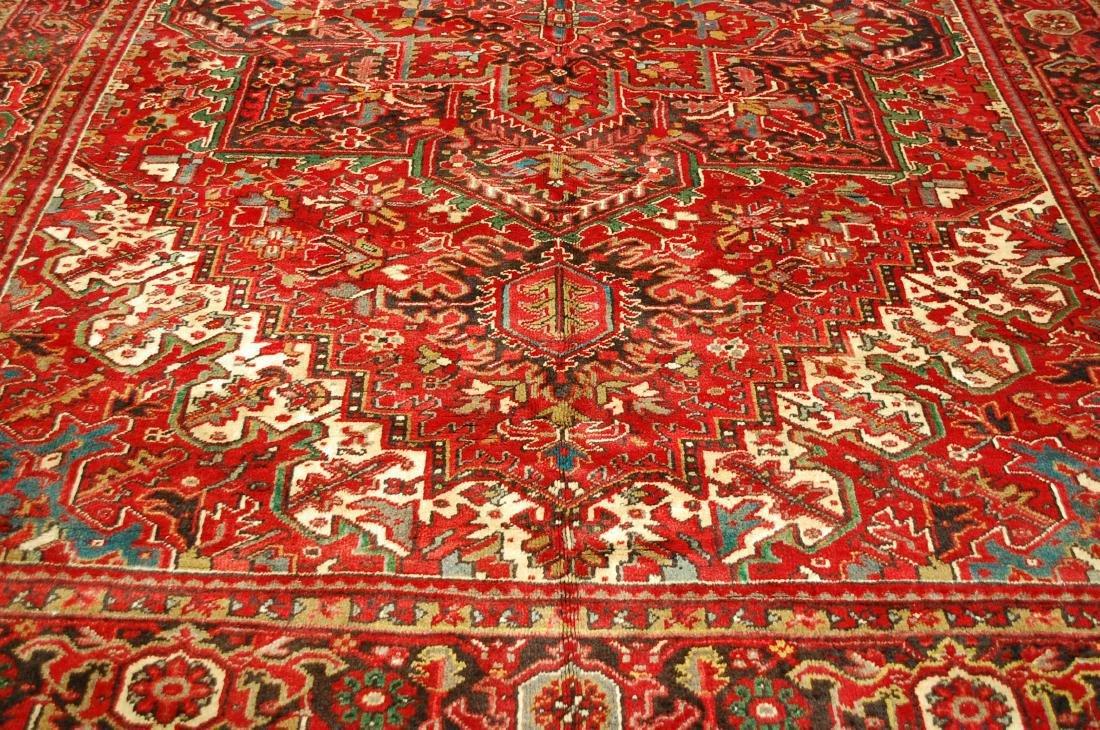 Persian Heriz Serapi Rug 11.8x13 - 6
