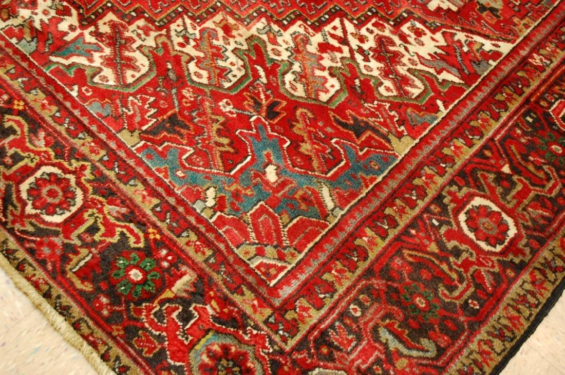 Persian Heriz Serapi Rug 11.8x13 - 8