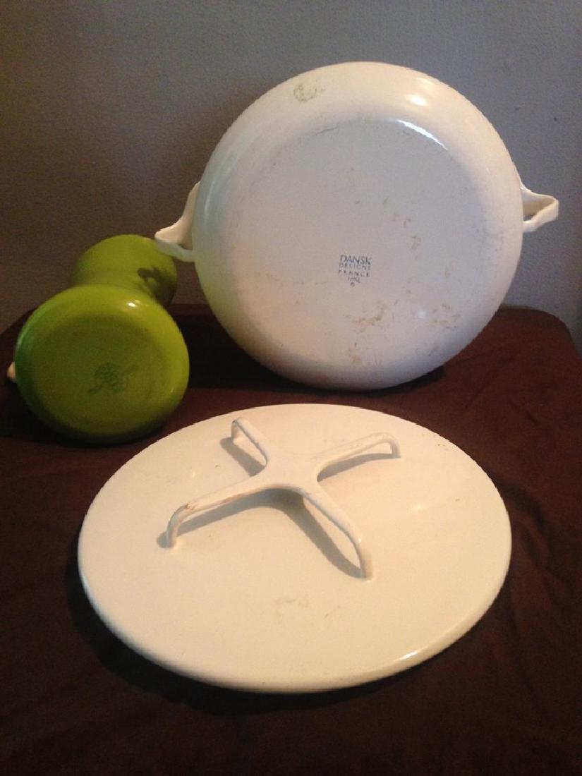 Midcentury Modern Dansk Pot and Pitcher - 2