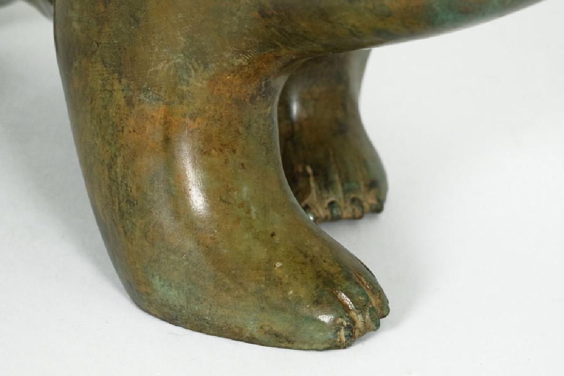 Pierre Chenet Bronze Sculpture of a Polar Bear - 8