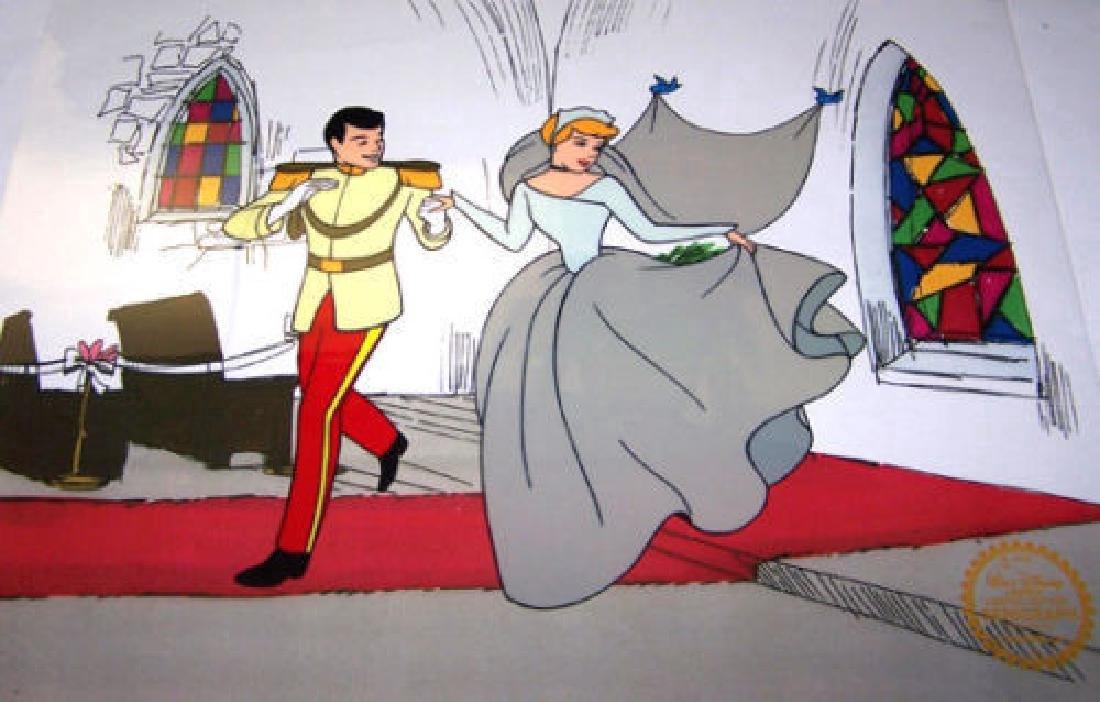 Cinderella Limited Edition Disney Animation Sericel