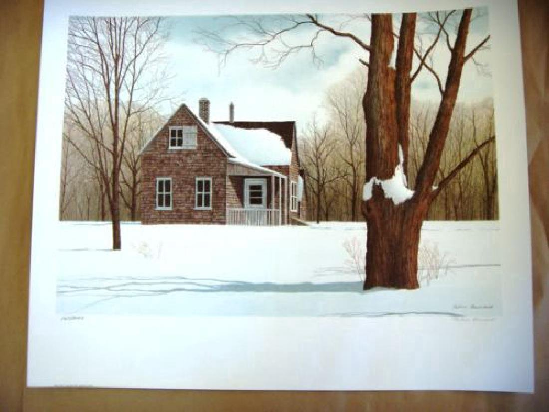 Helen Rundell Limited Edition Lithograph North Folk