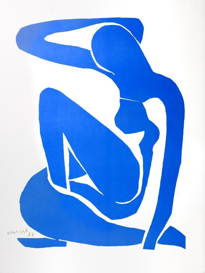 Henri Matisse Lithograph Blue Nude I