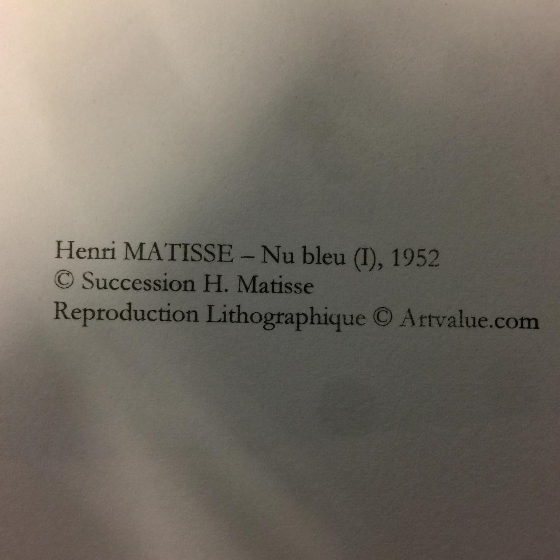 Henri Matisse Lithograph Blue Nude I - 3
