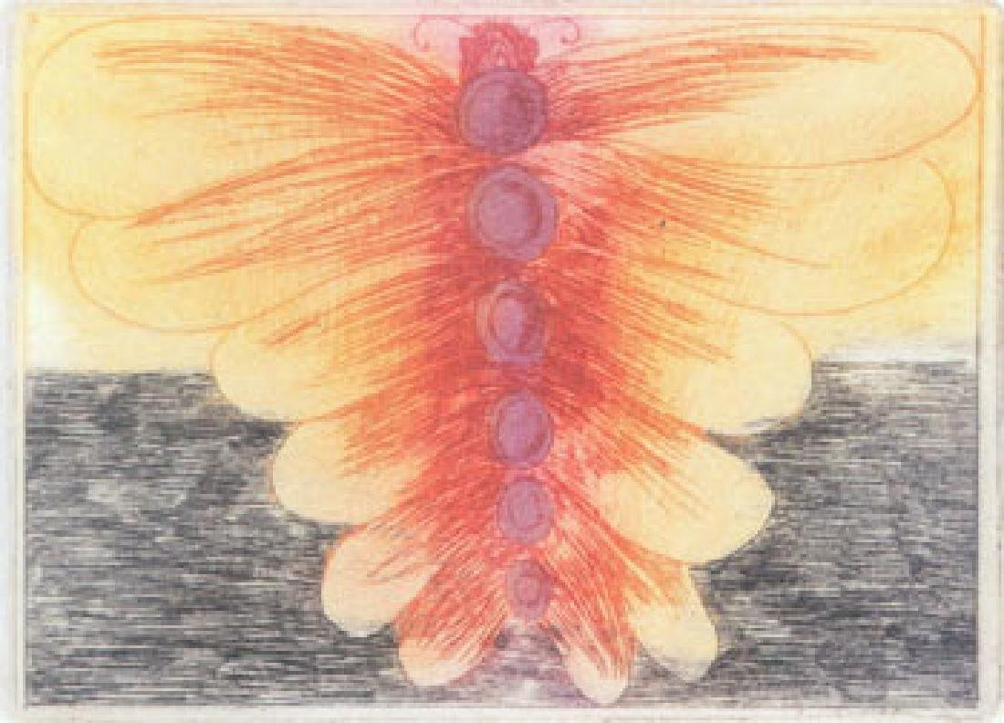Leonard Baskin 16 Etchings Butterflies