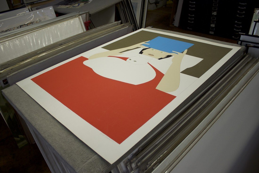 Will Barnet Signed Serigraph Woman Reading - 4