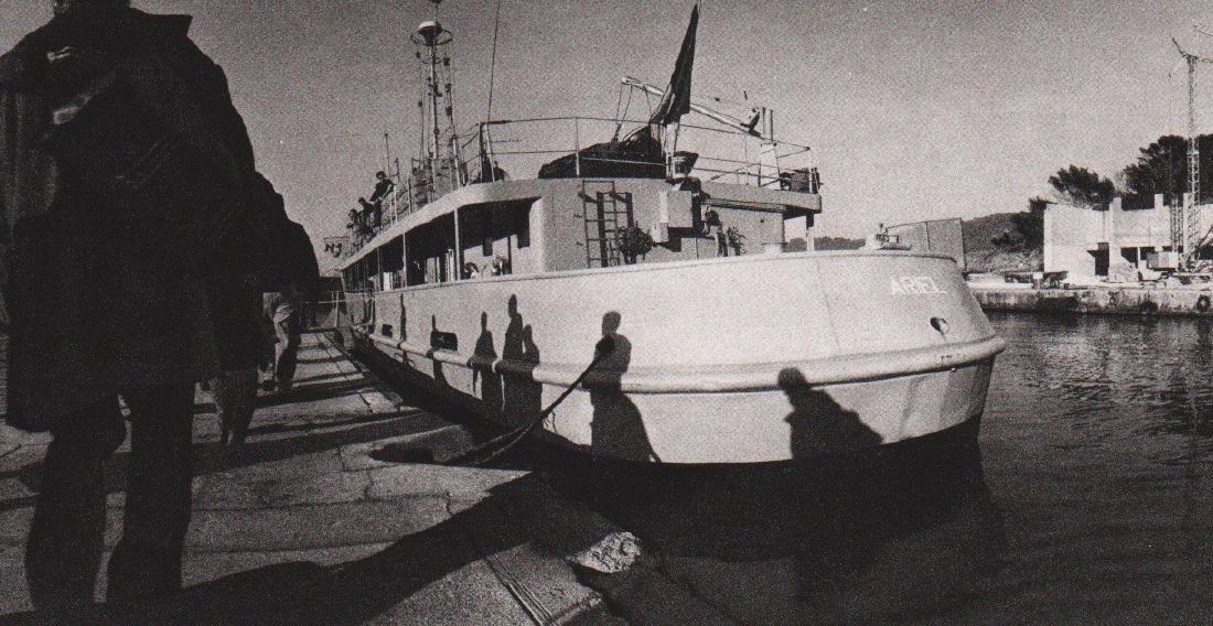 MICHAEL AZOUS - Ile du Lavant, 1990