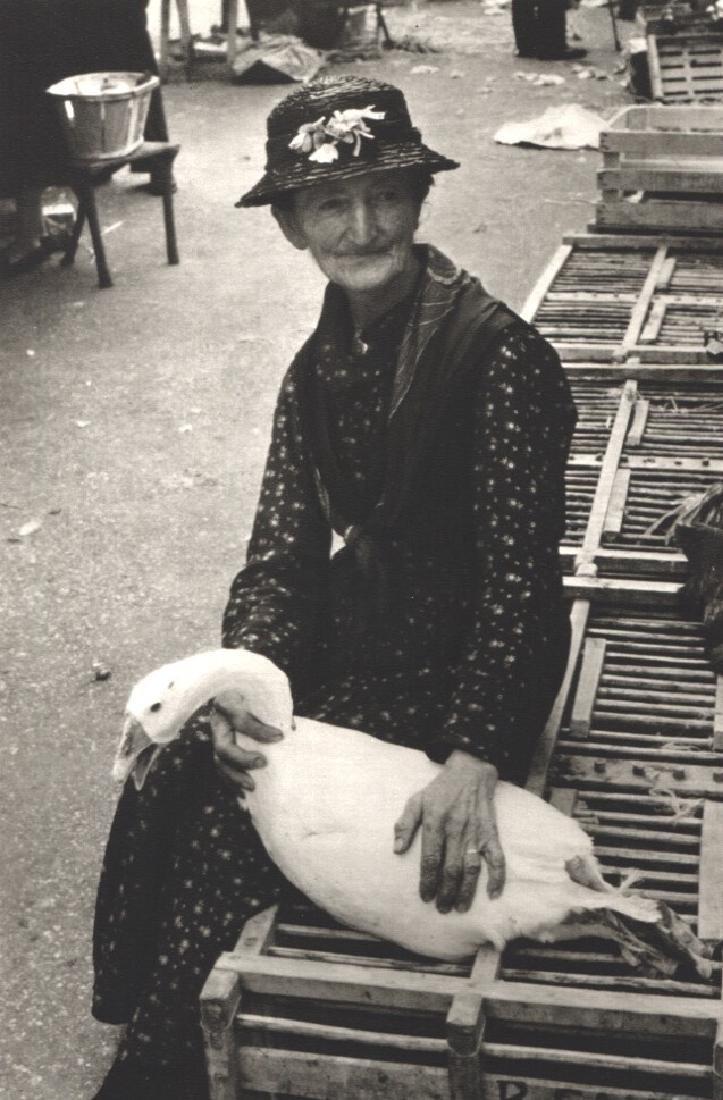 EDOUARD BOUBAT - Cahors Market, 1959