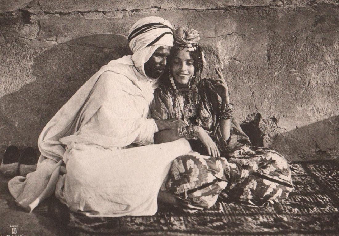 LEHNERT & LANDROCK - Berber, Ouled Nail couple