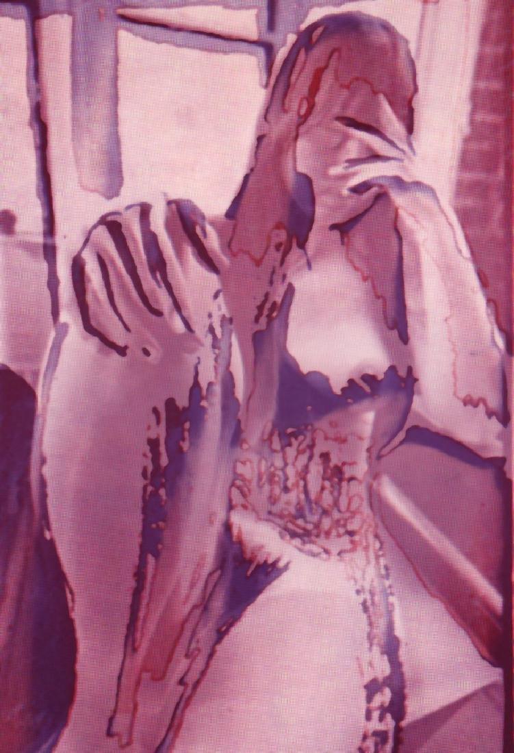 TODD WALKER - Processed Nude - Purple