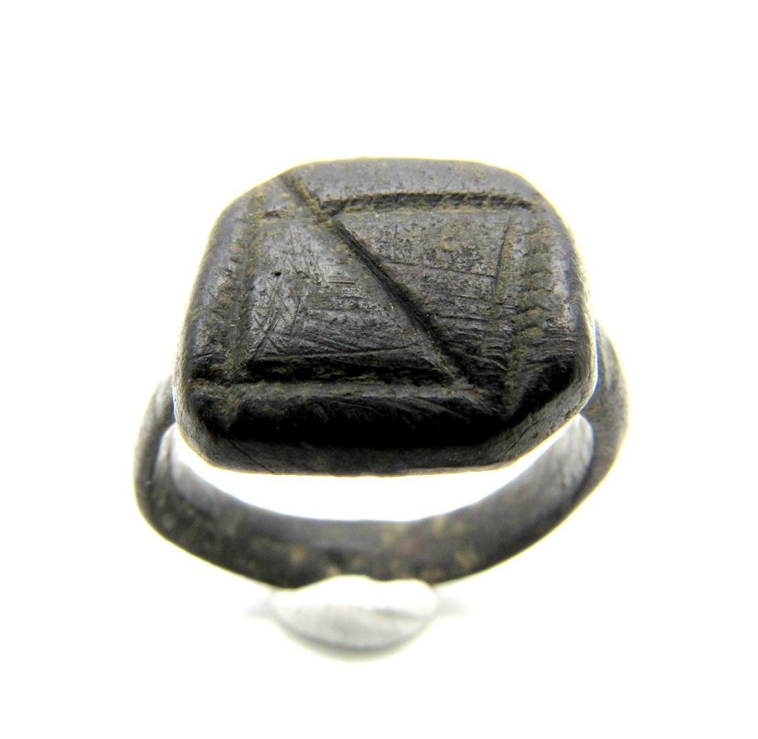 Viking Era Rind with Runic Symbol - 2