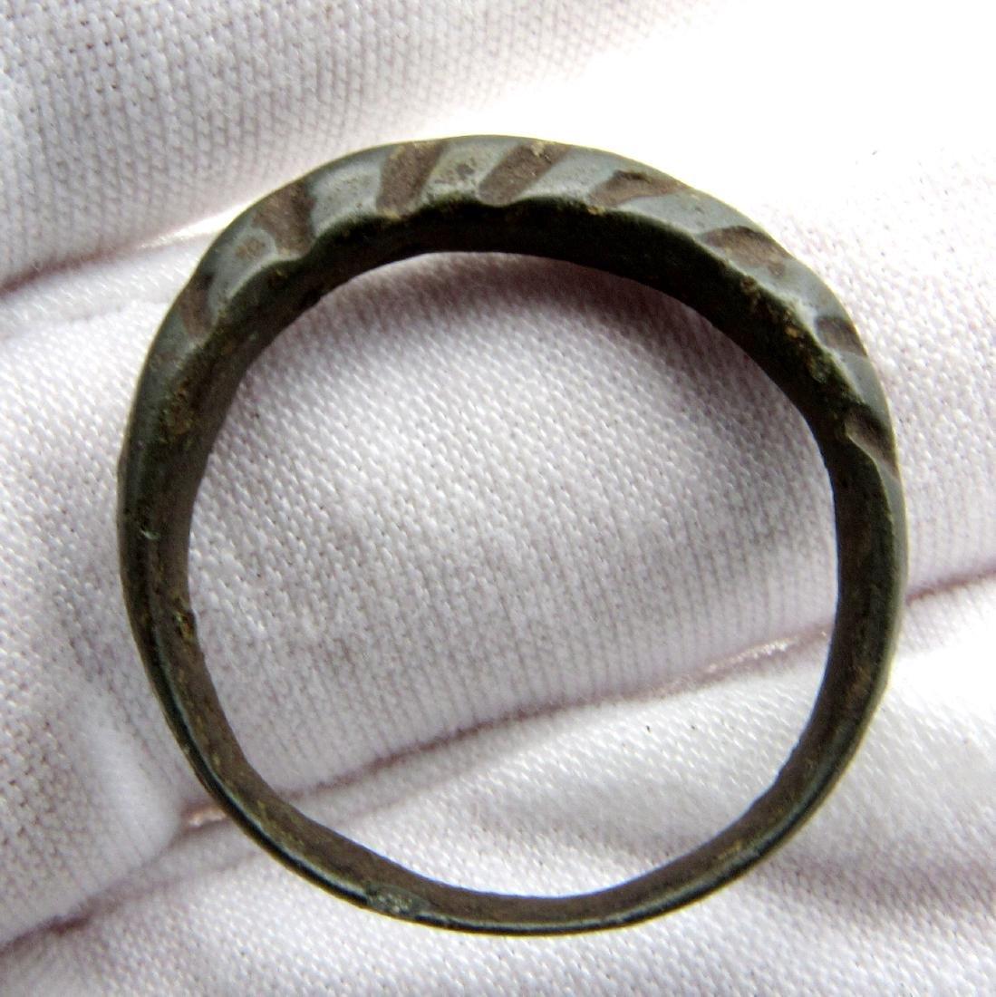 Viking Era Scandinavian Twisted Ring - 2