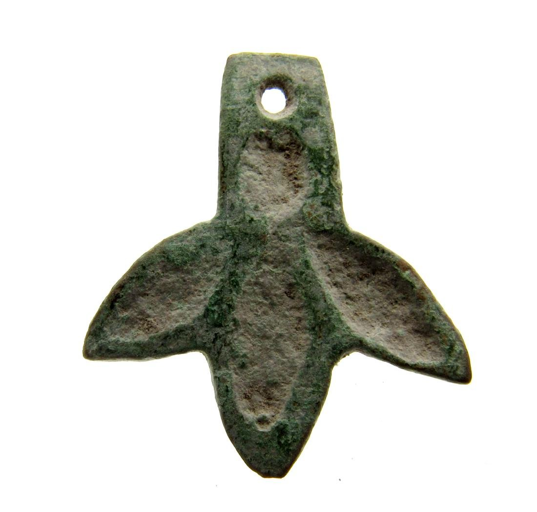 Viking Mythological Dragoon Foot Pendant - 2