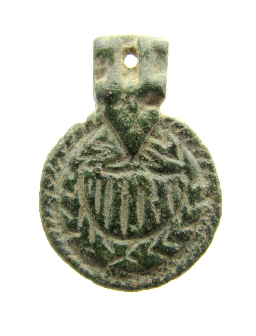 Viking era Mythological Pendant depicting Sea Serpent
