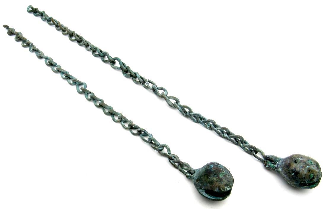 "Viking ""Magical"" Bell Pendants on Chain"