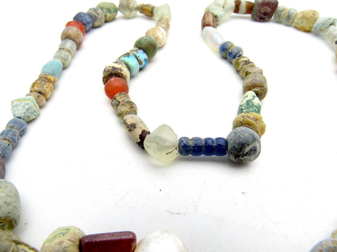 Viking Period Glass Beaded Wearable Necklace - 3