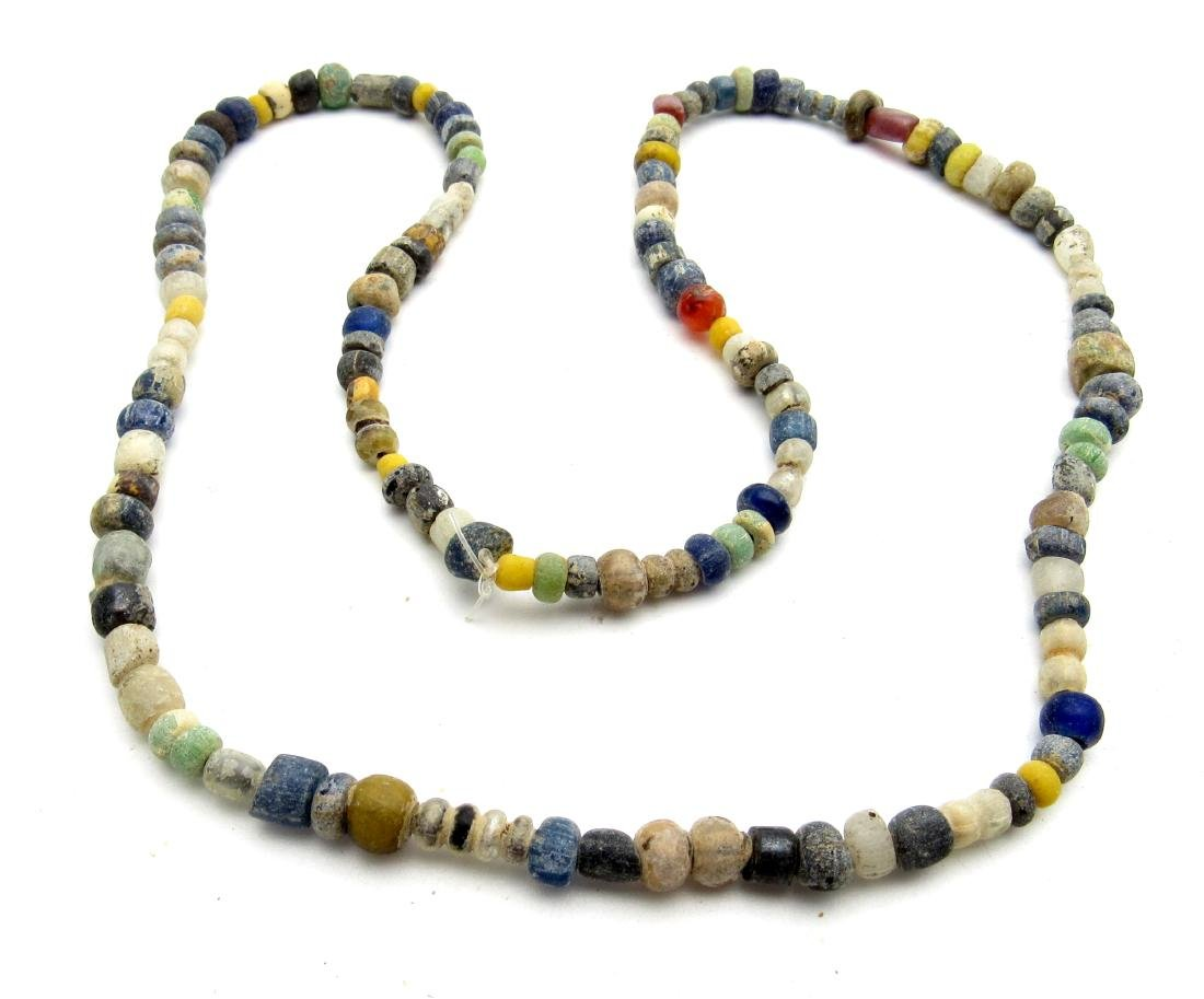 Viking Period Glass Beaded Wearable Necklace