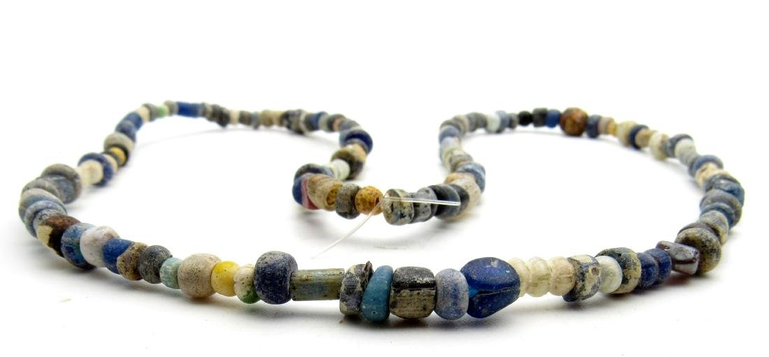 Viking Period Glass Beaded Wearable Necklace - 2