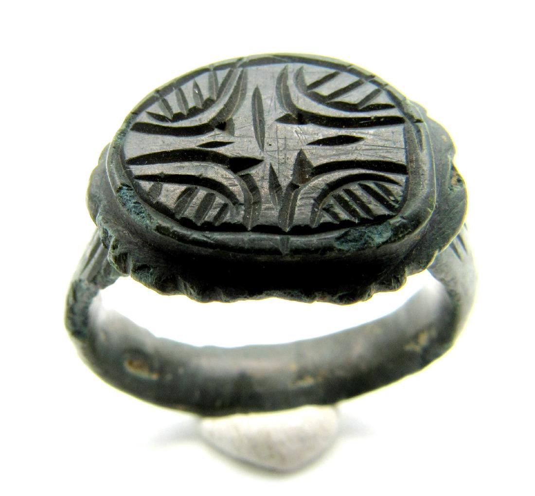 CRUSADERS RING WITH STAR OF BETHLEHEM - 2