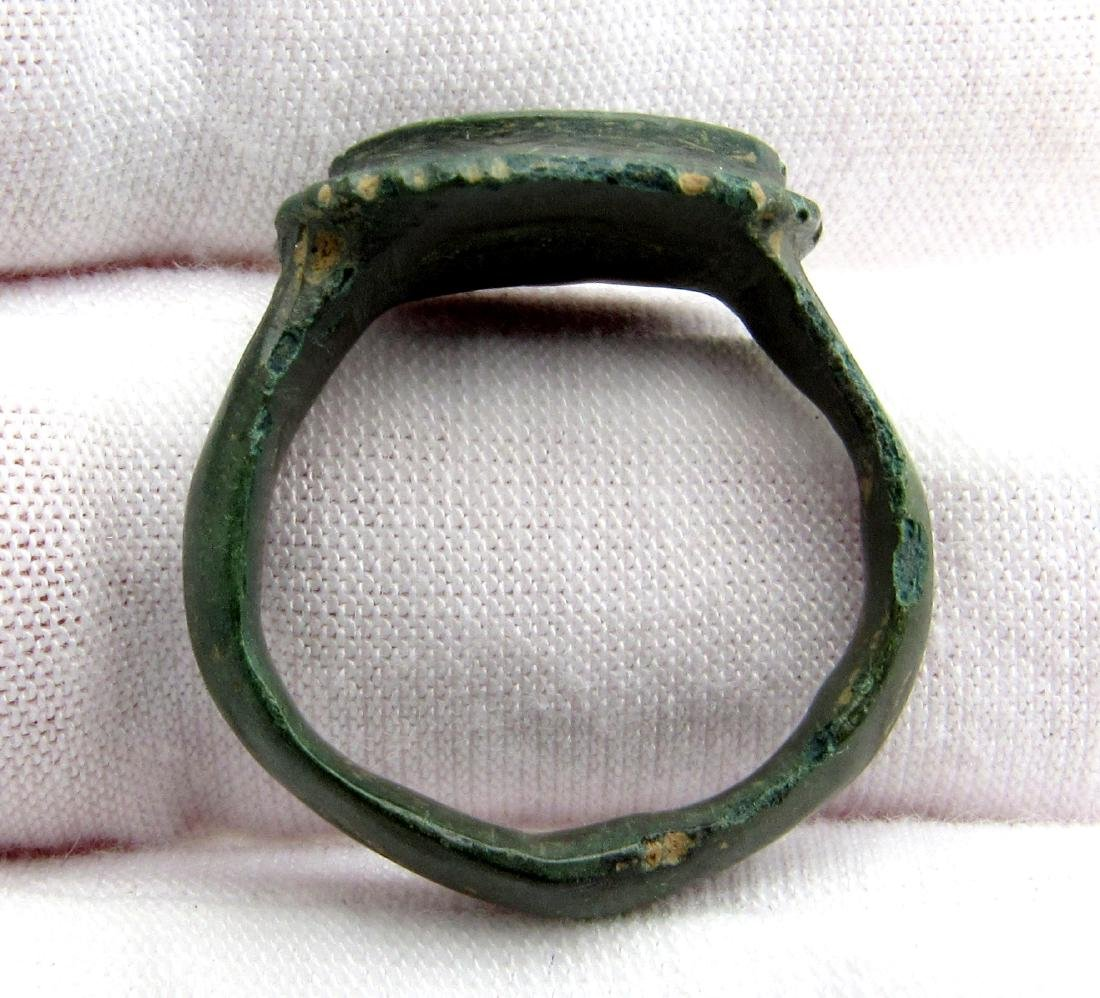 CRUSADERS RING WITH STAR OF BETHLEHEM - 3