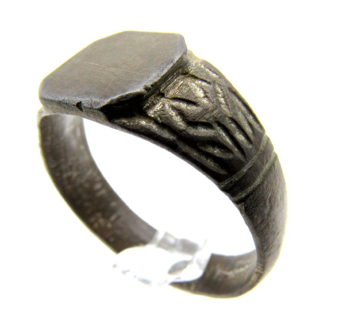 DECORATED MEDIEVAL WEDDING RING