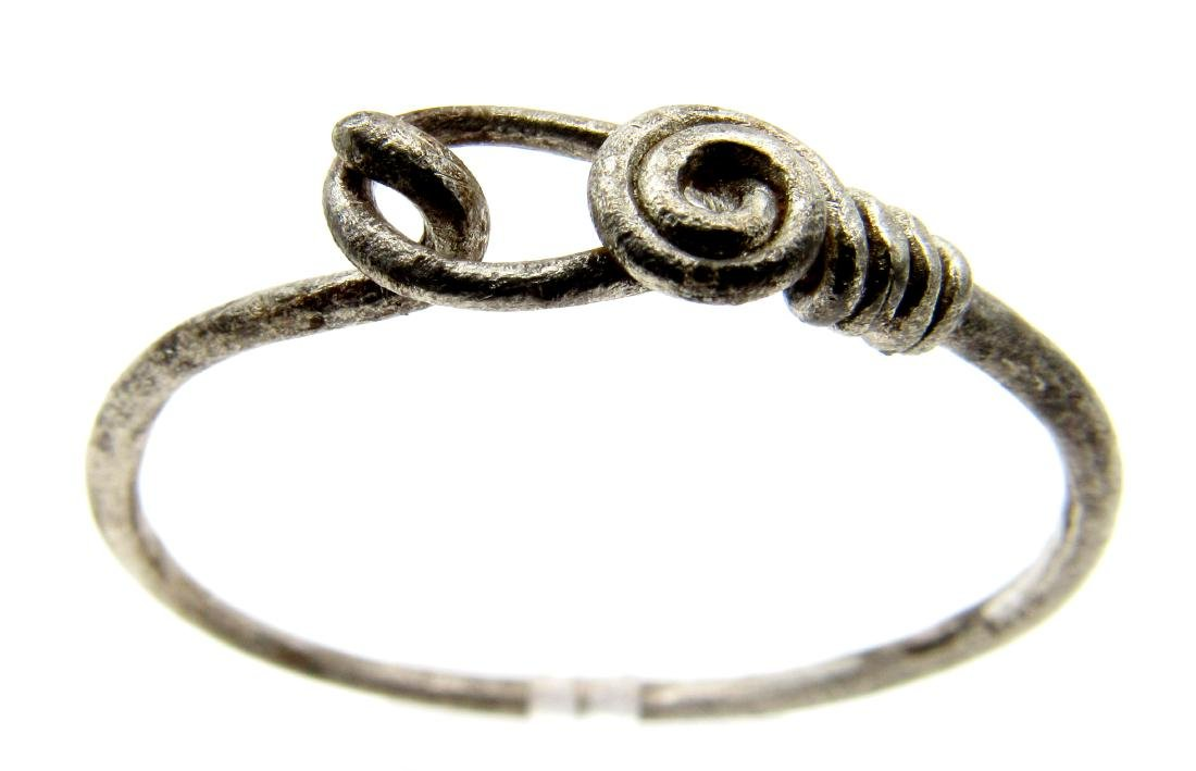 """Silver VIKING """"KNOT"""" TWISTED RING - 2"""