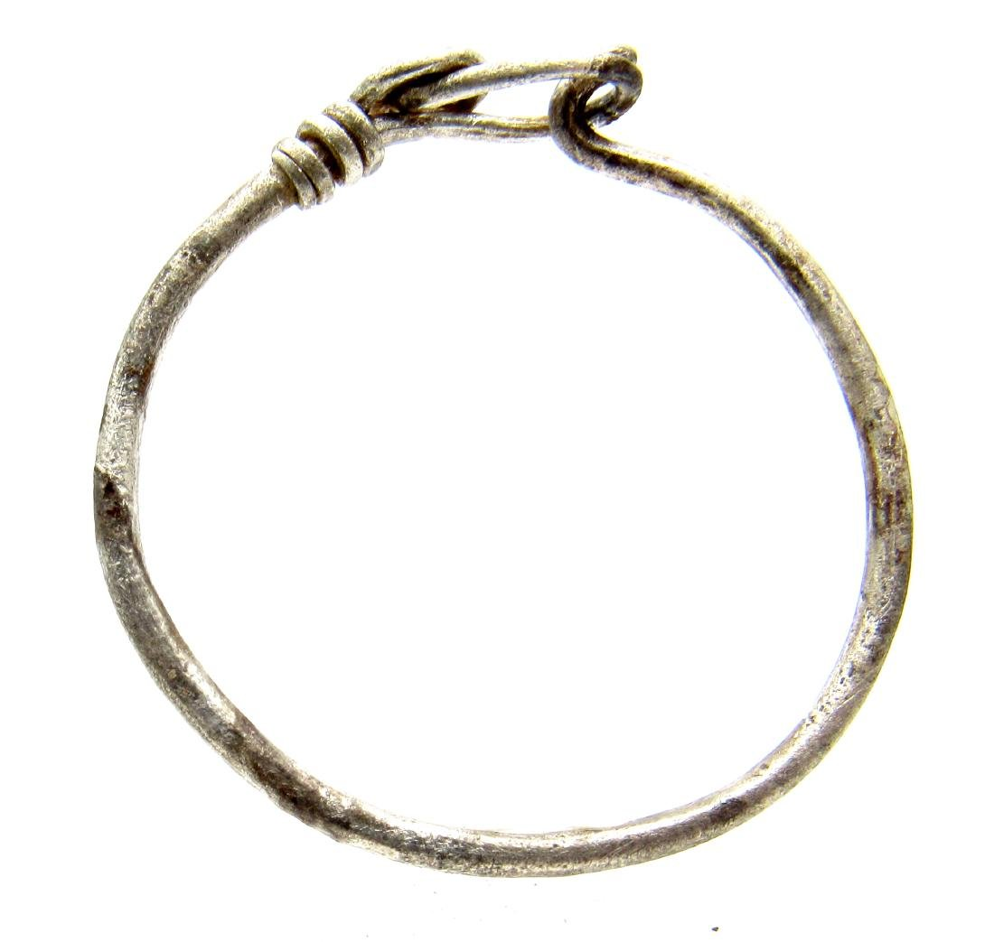 """Silver VIKING """"KNOT"""" TWISTED RING - 4"""
