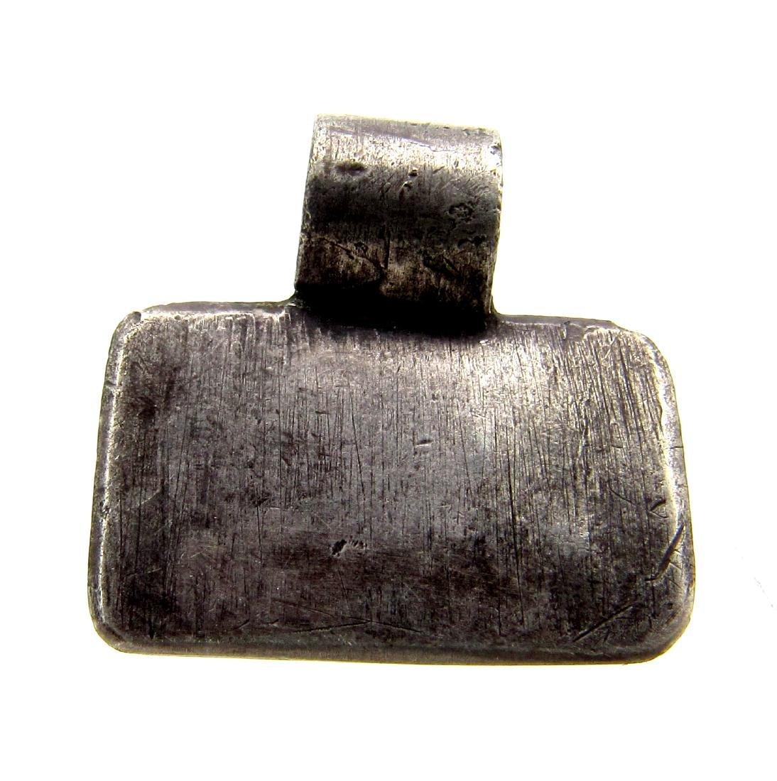 Viking Silver Noble Man Pendant