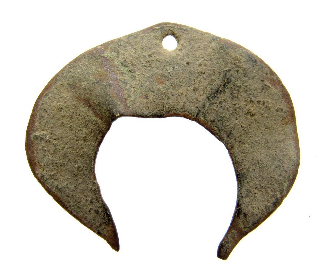 Viking Scandinavian Lunar Pendant