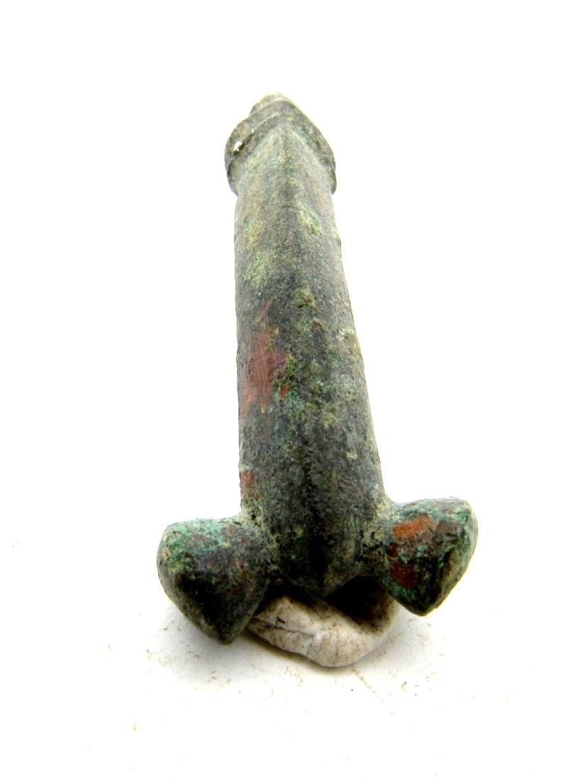Roman Legionary Phallic Shaped Pendant - Phallus - 3