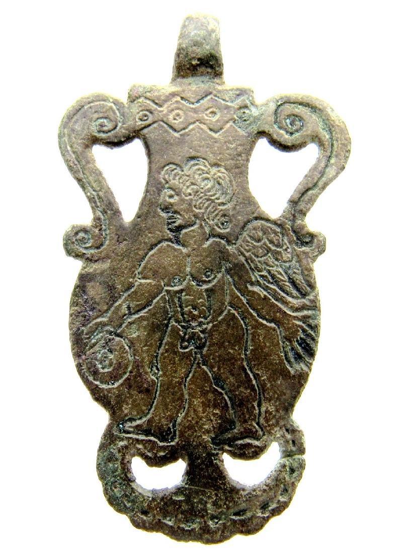 Rare Roman Eros Pendant